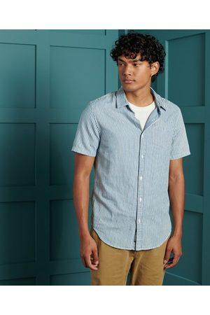 Superdry Man Kortärmade skjortor - Loom kortärmad skjorta