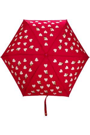 Moschino Hjärtmönstrat paraply