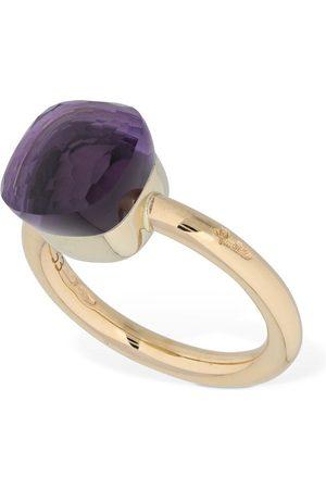 Pomellato Kvinna Ringar - Nudo 18kt Gold Ring W/ Amethyst