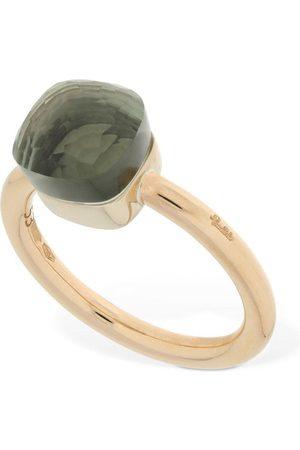 Pomellato Nudo 18kt Gold Ring W/ Prasiolite