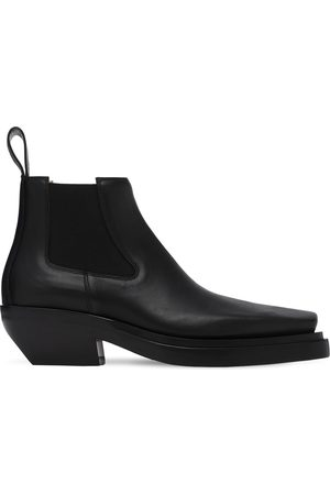 Bottega Veneta Mid Leather Boots