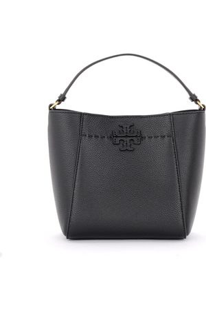 Tory Burch McGraw bucket bag in hammered leather