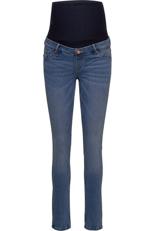 Lindex Trousers Denim Mom Clara Blue Jeans Mom Jeans