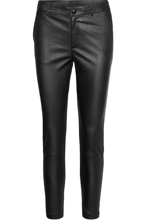 DEPECHE Stretch Pant 7/8 Length Leather Leggings/Byxor