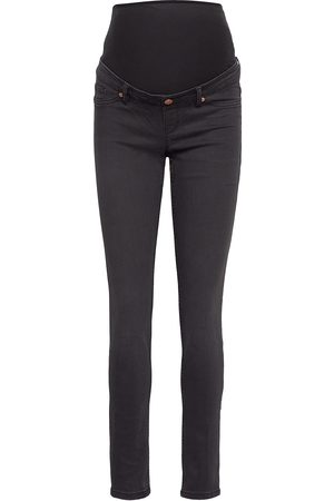 Lindex Trs Denim Mom Tova Soft Black Jeans Mom Jeans