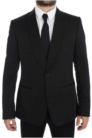 Dolce & Gabbana Silk Slim One Button Blazer
