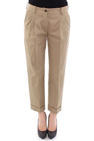 Dolce & Gabbana Cotton Cropped Chinos Pants