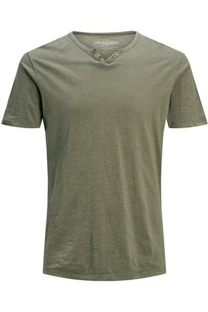 Jack & Jones Split Neck - T-shirt Man
