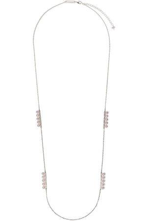 Tasaki Kvinna Halsband - Balance pärlhalsband i 18K vitguld med diamant