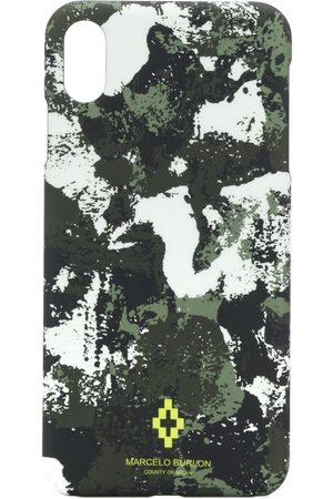 MARCELO BURLON Kamouflagemönstrat fodral