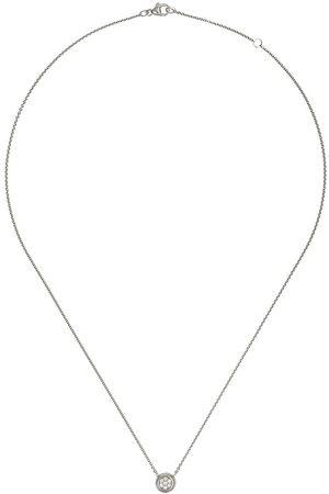 Georg Jensen Aurora diamanthalsband i 18K vitguld