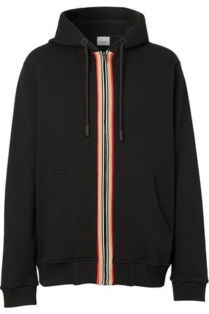 Burberry Icon Stripe zip-up hoodie