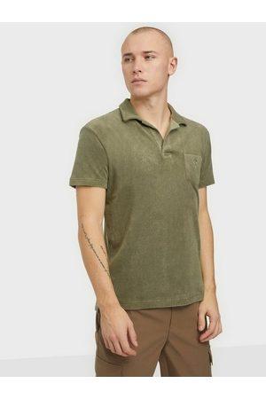 Oas Terry Shirt Skjorta Khaki