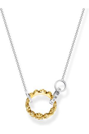 Thomas Sabo Halsband krona guld
