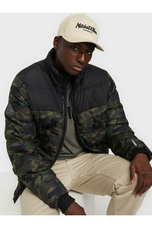 Superdry Track Sports Puffer Jackor Camo