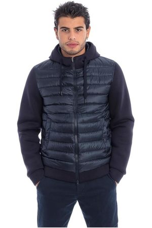 HERNO Bimaterial Jacket With Hood