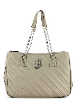 Liu Jo Quilted shoulder bag with chain handles