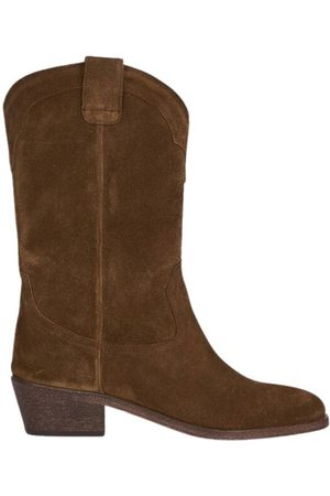 ANTHOLOGY PARIS Welson suede leather boots