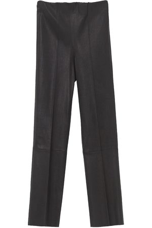 By Malene Birger Leather Trousers Florentina