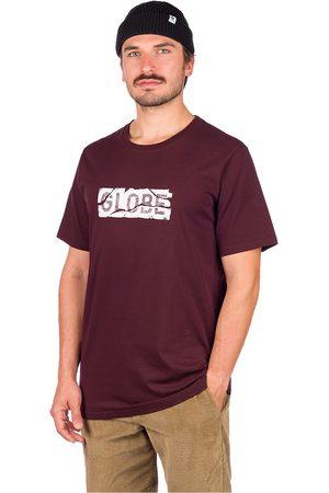 Globe Fracture T-Shirt oxblood