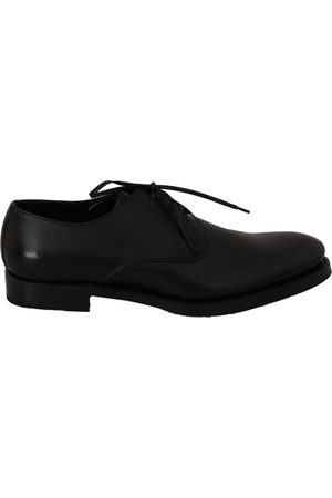 Dolce & Gabbana Leather Derby Formal Shoes