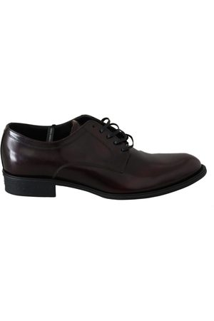Dolce & Gabbana Leather Derby Dress Mens Shoes