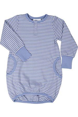 Geggamoja Klänning med ficka Infinity blue 50/56