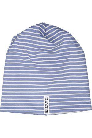 Geggamoja Barn Mössor - Topline Fleecemössa Infinity blue str Mini 0-2 m