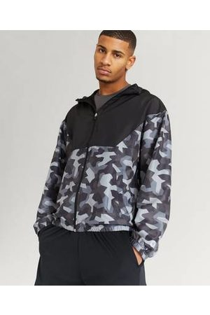 Studio Total Athleisure Man Jackor - Jacka Windbreaker Jacket Multi