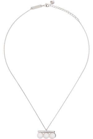 Tasaki Balance Neo diamanthalsband i 18K vitguld