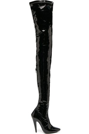 Saint Laurent Aylah over-the-knee boots