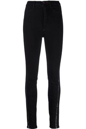 Philipp Plein Skinny-jeans med hög midja