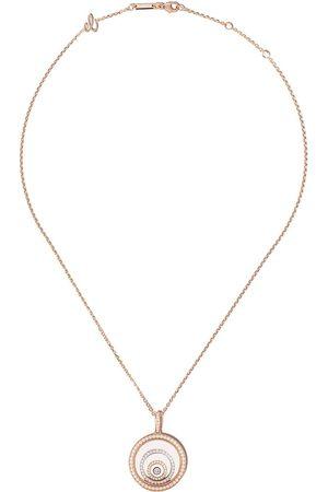 Chopard Kvinna Halsband - Happy Spirit diamanthalsband i 18K rosé- och vitguld