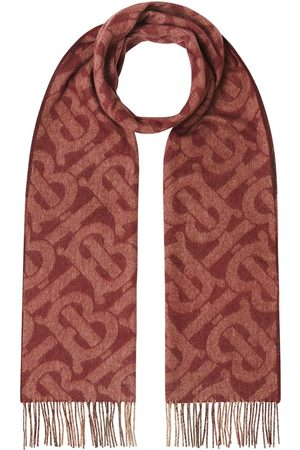Burberry Monogram check reversible scarf