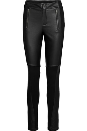 Sofie Schnoor Kvinna Leggings - Pants Leather Leggings/Byxor