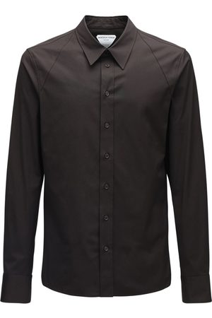 Bottega Veneta Compact Stretch Cotton Poplin Shirt