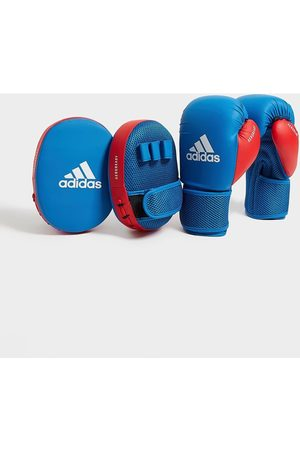 adidas Boxing Gloves & Focus Mitts Set Kids