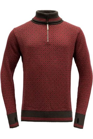 Devold Man Stickade tröjor - Men's Slogen Zip Neck