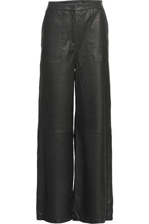 MDK / Munderingskompagniet Kvinna Leggings - Isa Leather Pants Leather Leggings/Byxor