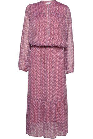 Coster Copenhagen Kvinna Festklänningar - Long Dress W. Elastic At Waist - Re Maxiklänning Festklänning Röd