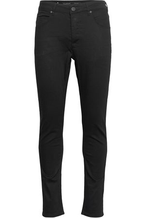 Gabba Rey K1535 Black Night Jeans Slimmade Jeans Svart