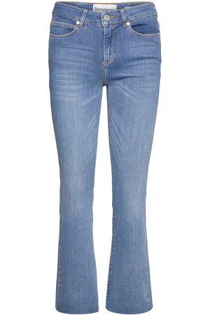 Tomorrow Kvinna Bootcut - Malcolm Kick Flare Wash Savannah Skinny Jeans