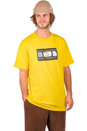 Salem7 Man Kortärmade - VHS T-Shirt yellow