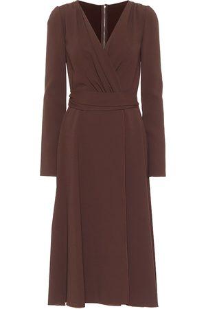 Dolce & Gabbana Kvinna Midiklänningar - Crêpe midi dress