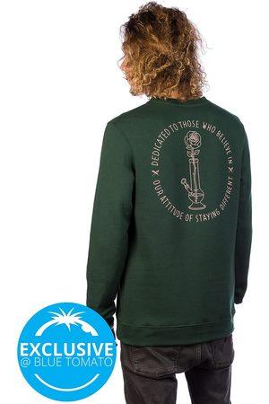 Iriedaily Rosebong Crew Sweater hunter