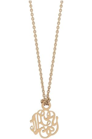 GINETTE NY Mini Monogram Necklace