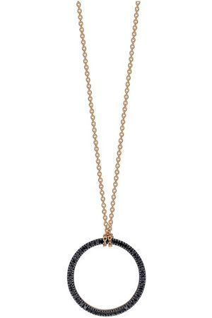 GINETTE NY Mini Black Diamond Necklace
