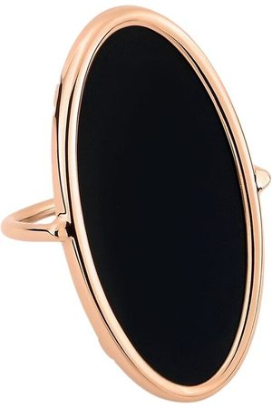 GINETTE NY Onyx Ellipse Ring