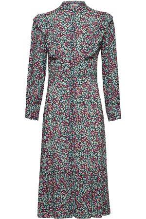 By Malina Kvinna Mönstrade klänningar - Leah Dress Knälång Klänning Multi/mönstrad