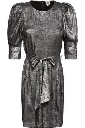 Twist & Tango Kvinna Festklänningar - Edie Dress Silver Kort Klänning Silver